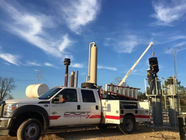 service natural gas dehydration