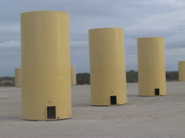 oil and gas storage tanks