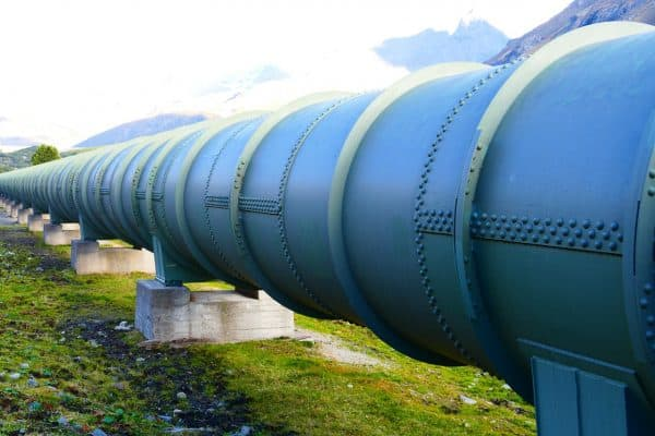 pressure water line, tube, pipeline