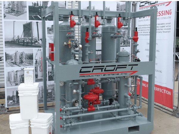 CROFT FCS Unit at Trade Show