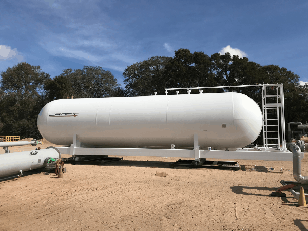 18,000 Gallon Recertified Bullet Tanks