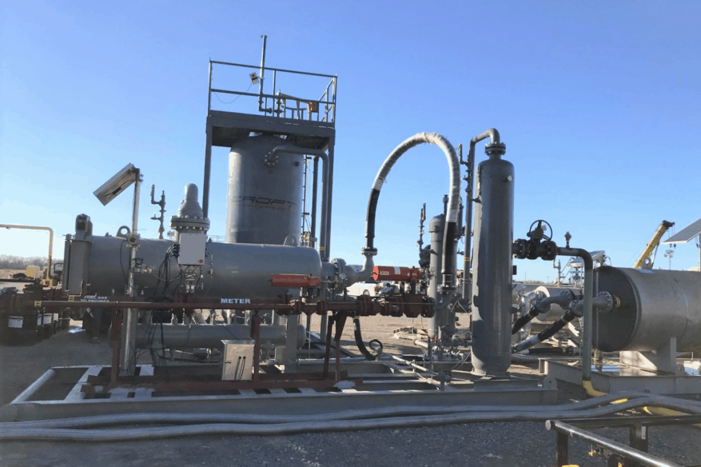 FueParameters for Large Natural Gas Powered Frac Fleet