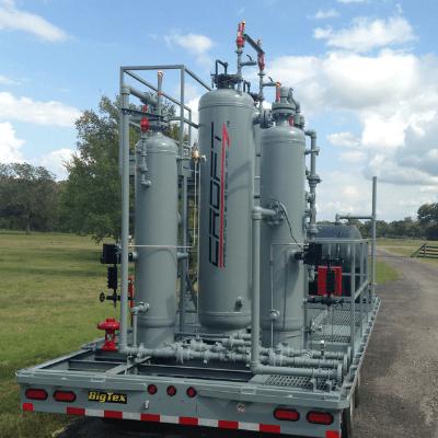 mobile natural gas dehy unit