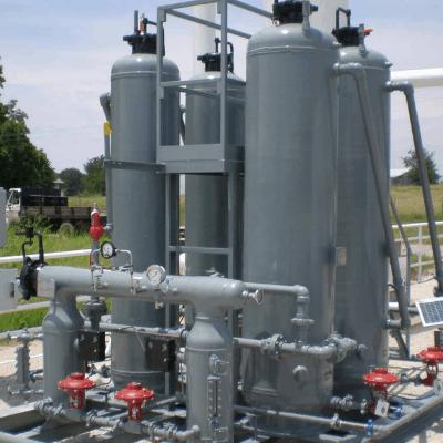 4 bottle passive dehydration system