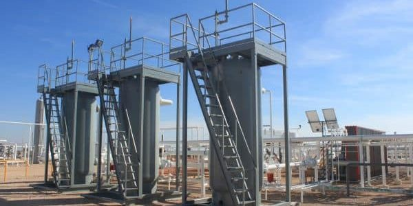 """3 CROFT 60"""" Passive Dehydration Systems for safe and emission free natural gas dehydration"""